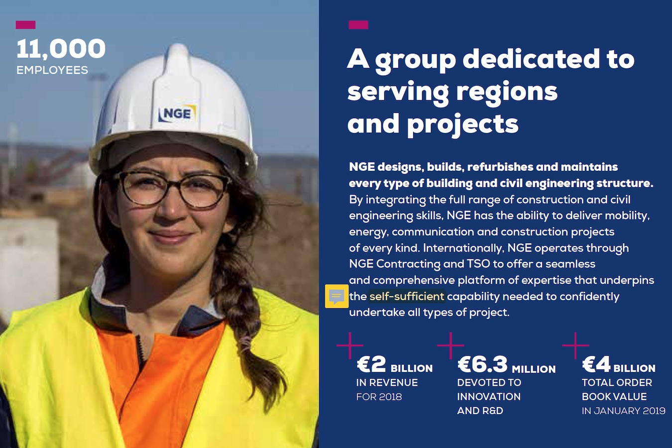 Corporate brochure NGE EN